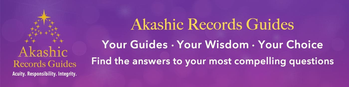 Purple Akashic Records Guides Banner