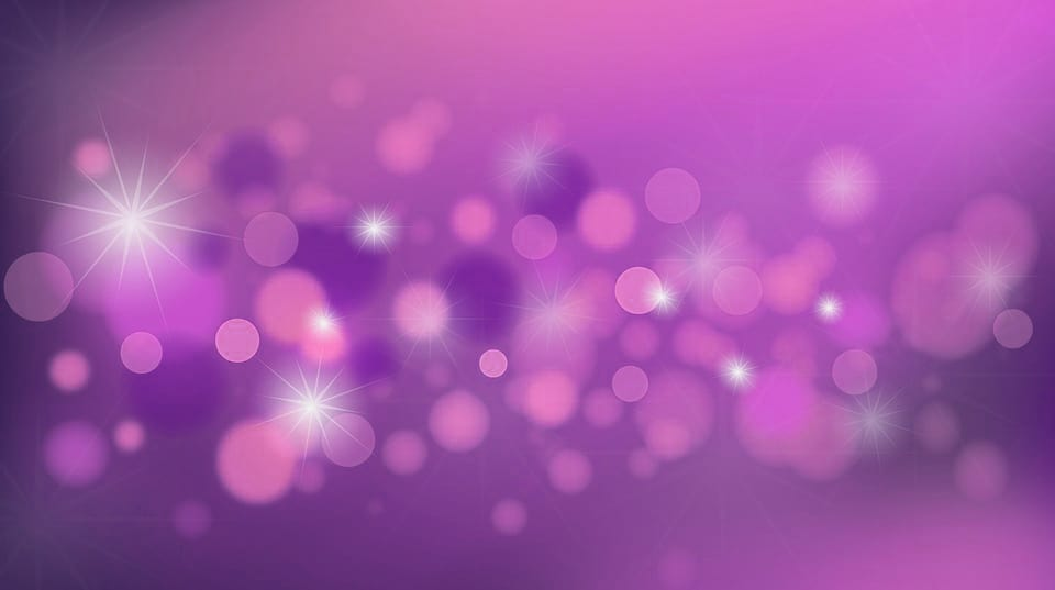 purple background with sparkles