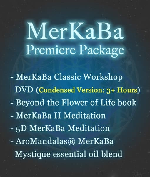 Dark blue background with MerKaBa package text