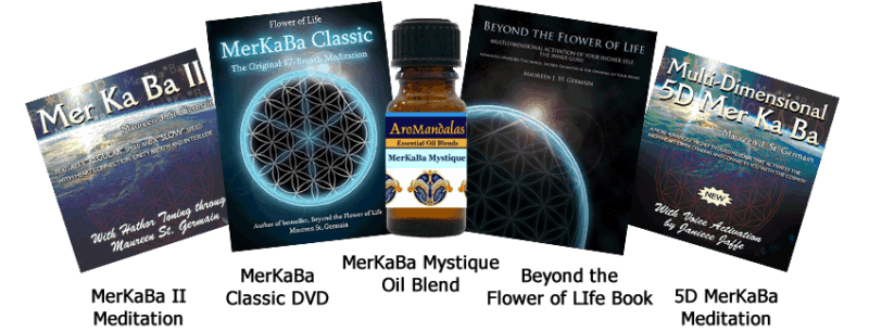MerKaBa DVD, Meditation and Oil Blend