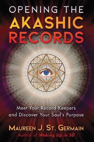 glowing eye book cover akashic records