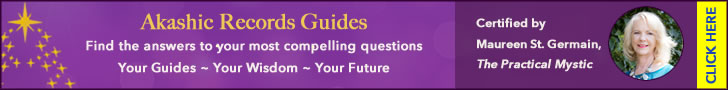 purple banner the akashic records gold stars