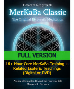 MerKaBa Workshop Full Flower of Life Sacred Geometry by Maureen St. Germain